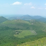Uitzicht Puy de Dôme